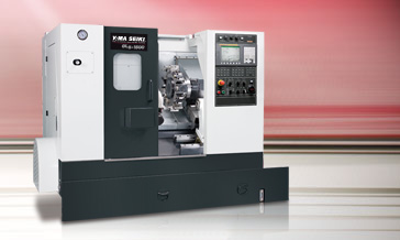 High Speed Live tooling & Sub-Spindle Turning Center