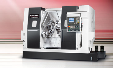 Maximum Performance Live tooling Turning Center