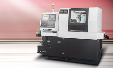 Maximum Performance Live tooling Turret Turning Center