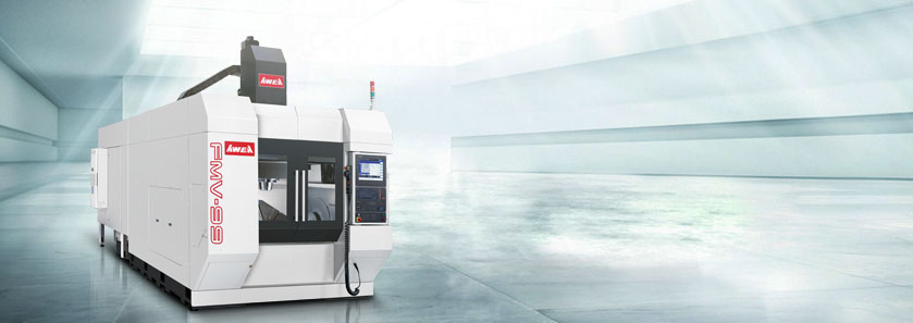 CNC 5-Axis Gantry Type Machining Center FMV Series model shown