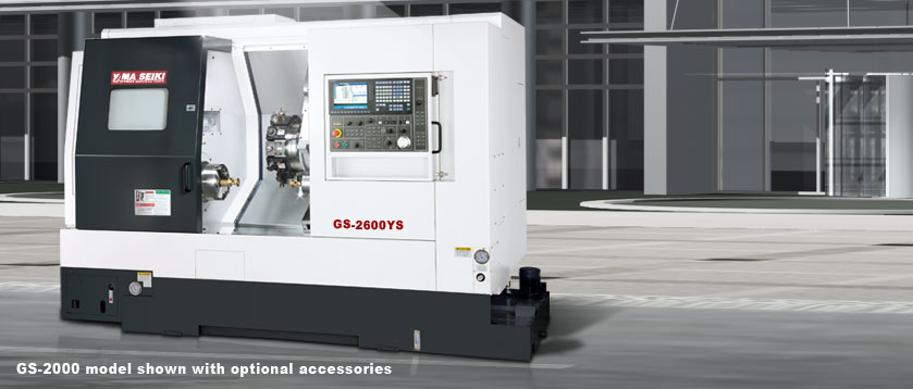 CNC Maximum Performance Turning Centers GS-2000 model shown